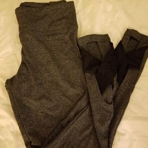 Victoria's Secret gray marled leggings